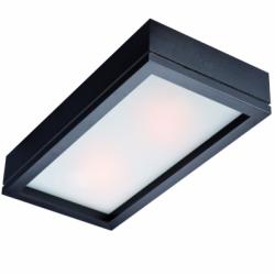 Aplica Agata wenge 2x60W E27, sticla - Iluminat corpuri de iluminat