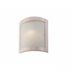 Plafoniera Halina alb antic 1x60W E27, sticla - Iluminat corpuri de iluminat