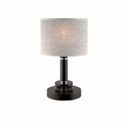 Veioza Rosa negru/wenge 1x60W E27, textil - Iluminat corpuri de iluminat