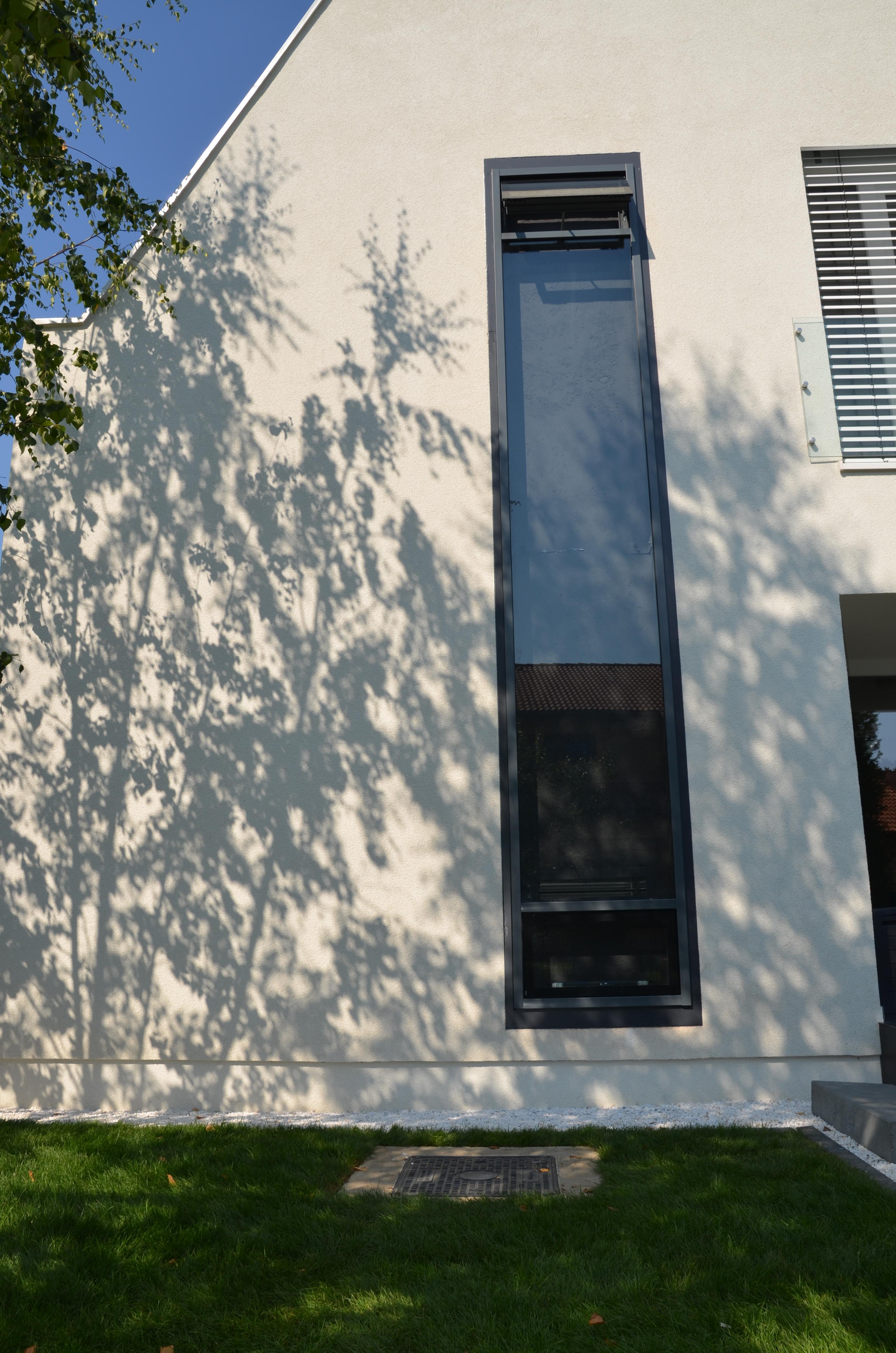 Perete Trombe - Profile din aluminiu Metra Poliedra Sky 50 - Casa E4 - Perete Trombe