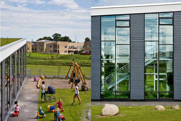 Centrul de Zi, un paradis verde pentru copii  - Centrul de Zi