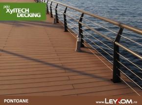 Deck compozit - pontoane - Placi decking