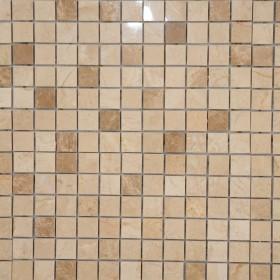 Mozaic - Marmura Light Bej si Cappucino - Mozaic si alte tipuri de piatra naturala - MARMUR_ART
