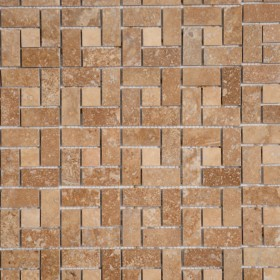 Mozaic - Travertin Noce si Classic - Mozaic si alte tipuri de piatra naturala - MARMUR_ART