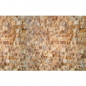 Mozaic - Travertin Yellow scapitat 3D - Mozaic si alte tipuri de piatra naturala - MARMUR_ART