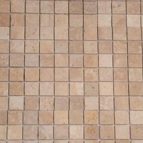 Mozaic - Travertin Classic Antichizat - Mozaic si alte tipuri de piatra naturala - MARMUR_ART