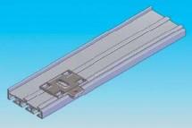 Prinderea mecanica de grinzile din tavan - Panouri glisante - Variante de montaj