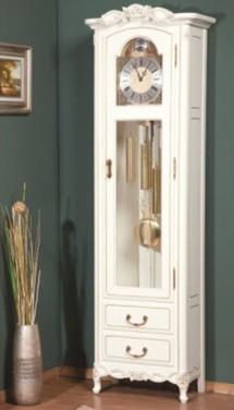 Vitrina ceas Flora - Mobila sufragerie lemn masiv Flora