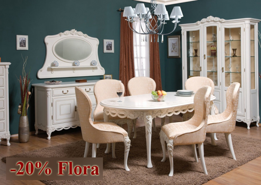 Sufragerie Flora - Reduceri Casa Mobila Simex