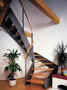 Scara cu vanguri metalice - Model Athen - Scari cu structura metalica
