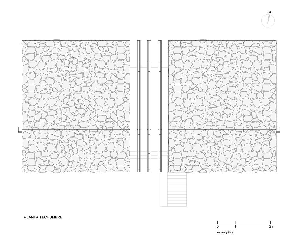 Planul acoperisului - Frumusete la inaltime - casa construita la buza prapastiei cu privelisti ce va