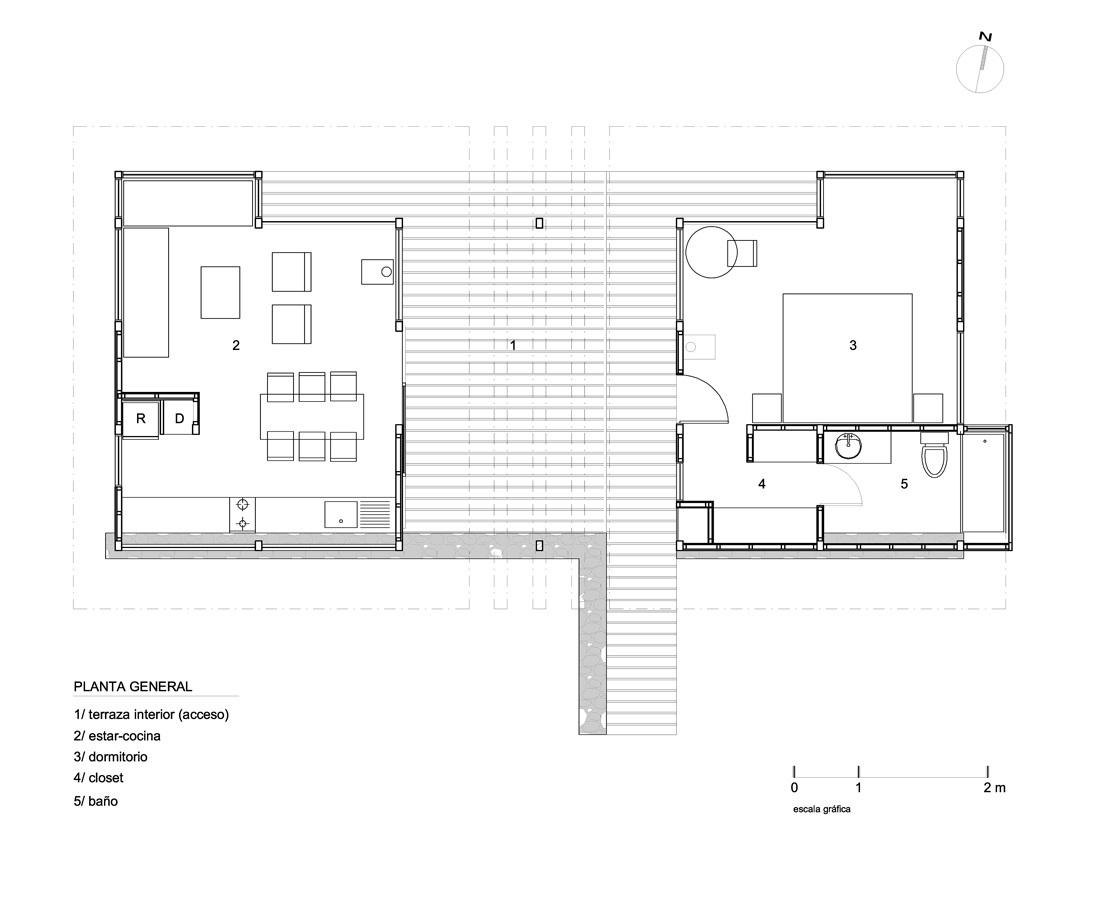 Planul casei - Frumusete la inaltime - casa construita la buza prapastiei cu privelisti ce va