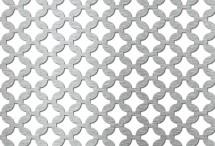 Tabla perforata - Perforatii decorative Arabica 20-24 - Tabla perforata