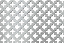 Tabla perforata - Perforatii decorative Cross 15-30,86 - Tabla perforata