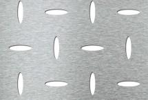 Tabla perforata - Perforatii decorative EVH 8-50 - Tabla perforata