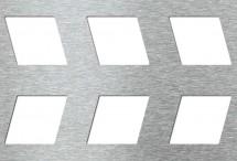 Tabla perforata - Perforatii decorative Leporello 40-65 - Tabla perforata