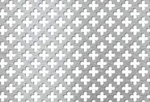 Tabla perforata - Perforatii decorative Nr.154 - Tabla perforata