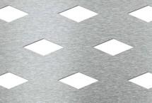 Tabla perforata - Perforatii decorative Rhomb 25-48 - Tabla perforata