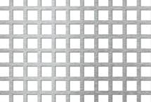 Tabla perforata - Perforatii patrate Qg 15-20 - Tabla perforata