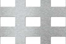 Tabla perforata - Perforatii patrate Cube 30-60 - Tabla perforata