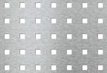 Tabla perforata - Perforatii patrate Qg 10-30 - Tabla perforata