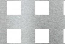 Tabla perforata - Perforatii patrate Qg 50-100 - Tabla perforata
