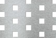 Tabla perforata - Perforatii patrate Qv 20-50 - Tabla perforata