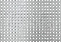 Tabla perforata - Perforatii rotunde Rg 5-10 - Tabla perforata