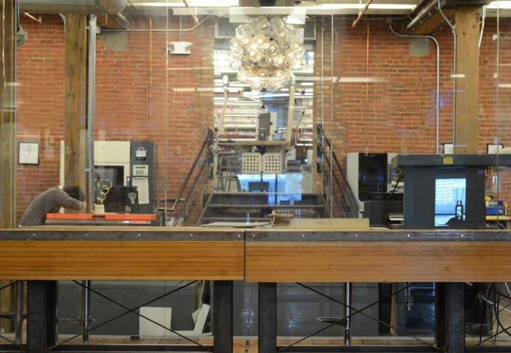 Design industrial autentic pentru birourile companiei Quirk - Design industrial autentic pentru birourile companiei Quirky