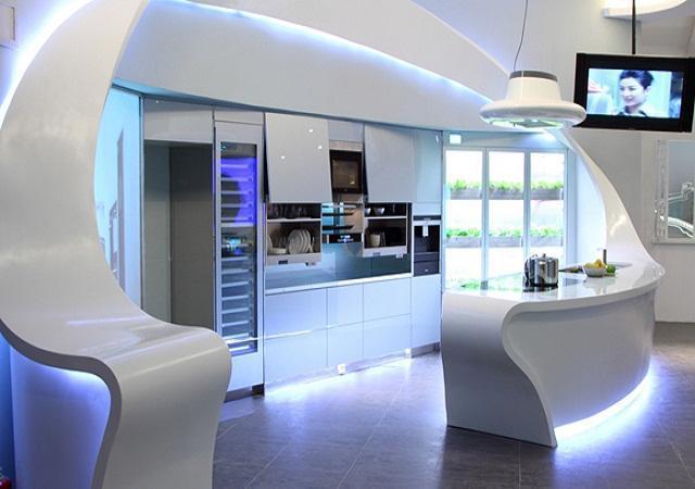Bucatariile viitorului for Cocinas ultramodernas