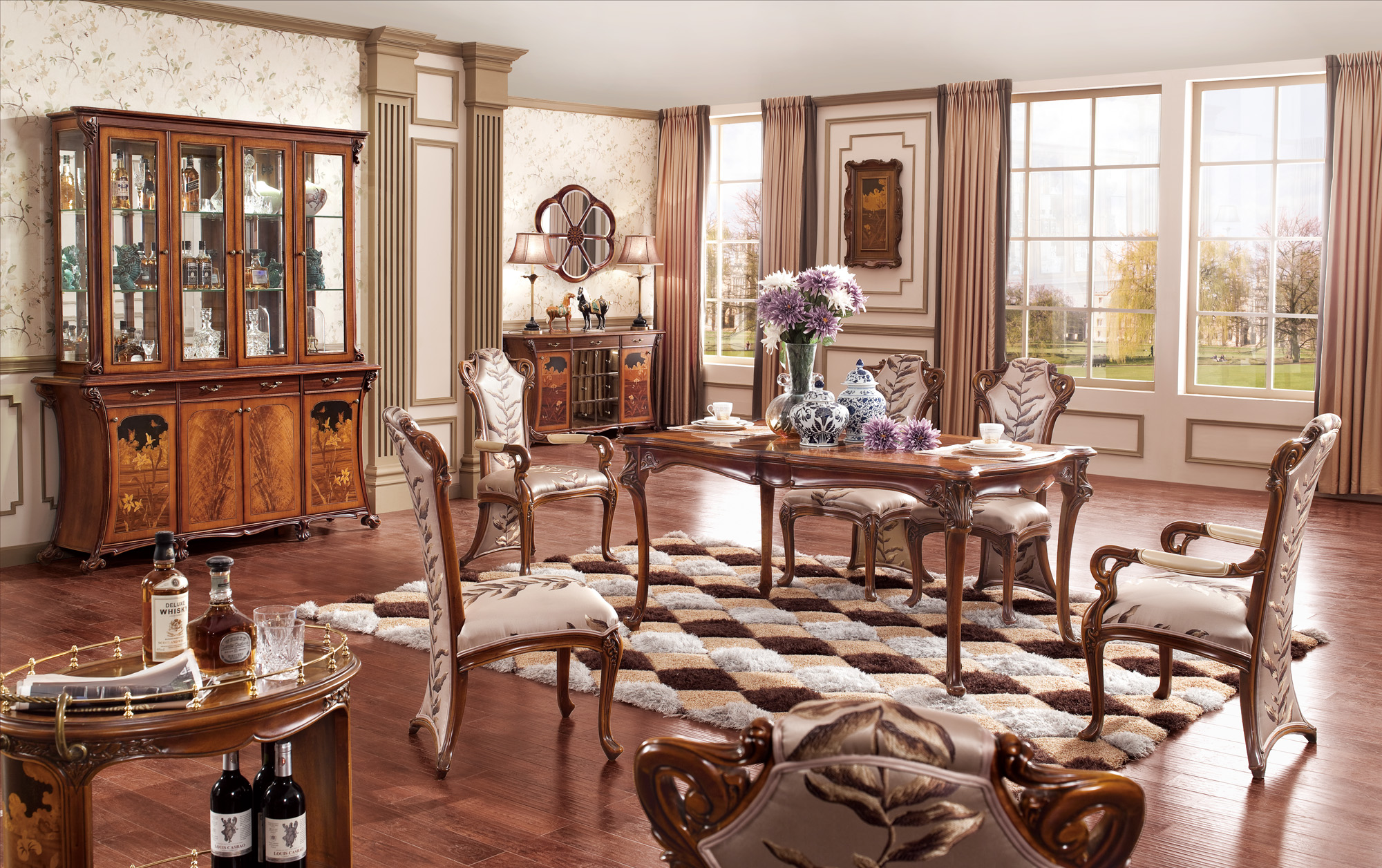 Mobilier dinning - Colectia Tiffany - Mobiler clasic Il Vero