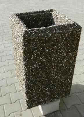 Cos de gunoi din beton - Mobilier urban - Cosuri de gunoi
