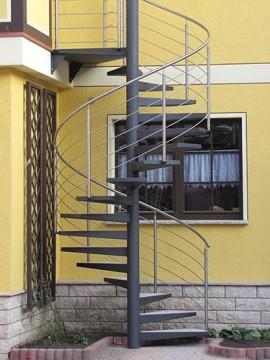 Scari metalice elicoidale de exterior - Scari metalice elicoidale de exterior