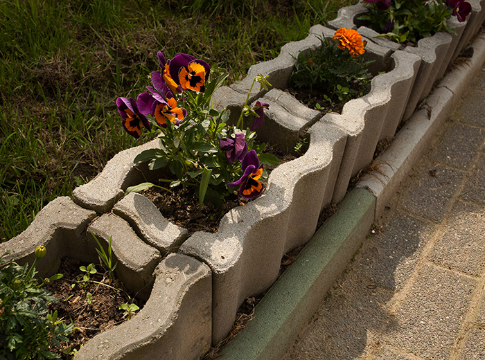 Jardiniere din beton elis pavaje - Etancheite jardiniere beton ...