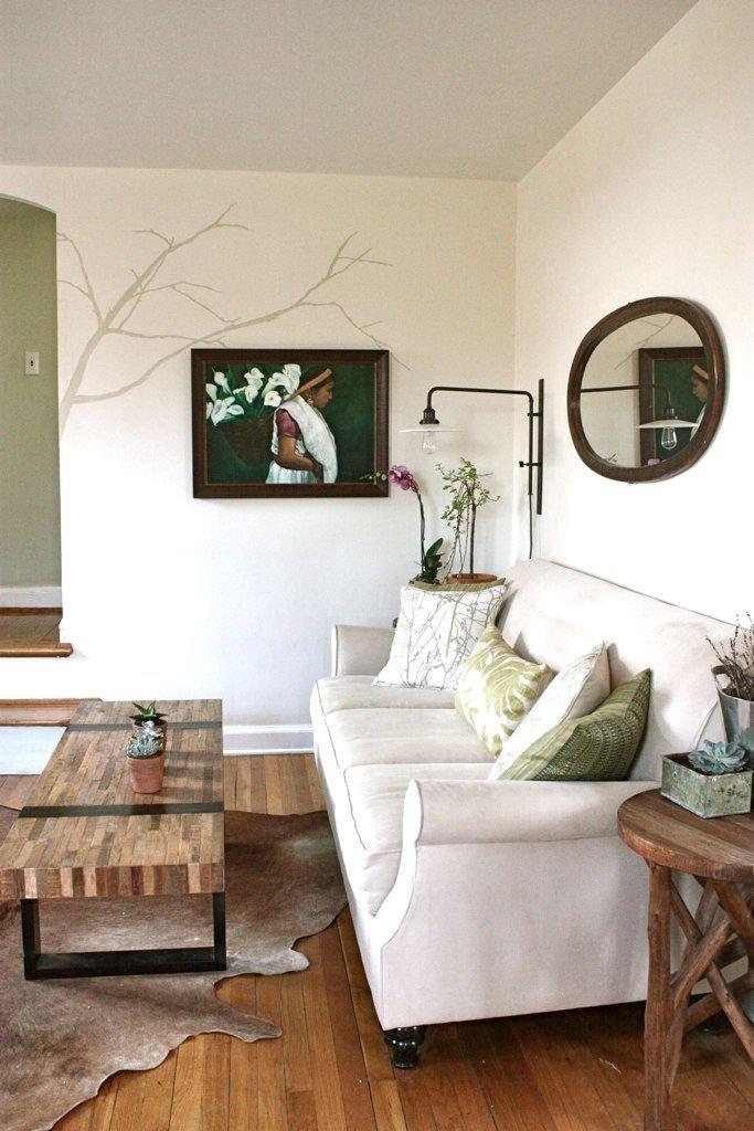 O casa amenajata cu o combinatie de stil retro si contemporan - O casa amenajata cu