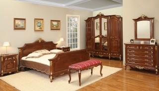Garnitura dormitor Royal Gold - Mobila dormitor Royal Gold