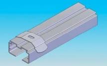 Prinderea mecanica de grinzile din tavan - Jaluzele verticale - Variante de montaj