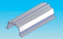 Prinderea in tavanele suspendate cu profile speciale - Jaluzele verticale - Variante de montaj
