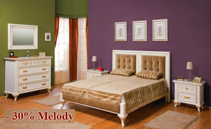 Dormitor Melody - Reduceri Casa Mobila Simex