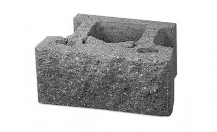 Blochet Compact III cu fata dreapta - Blocheti din beton