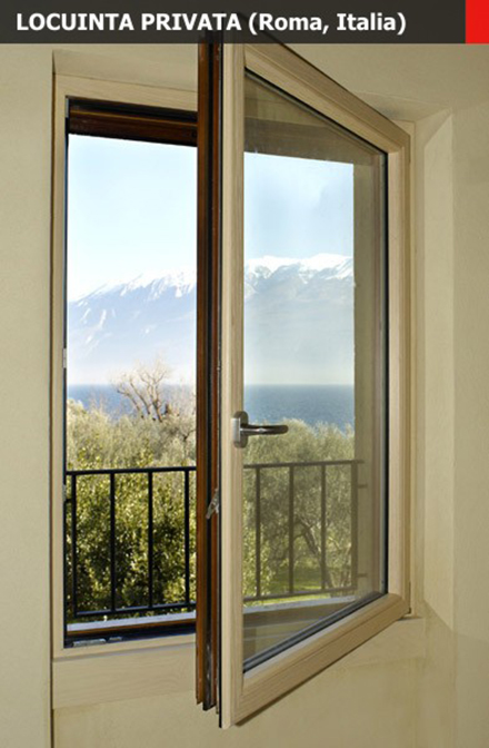 Sisteme ferestre batante AELLE 100 STH - Sisteme ferestre batante AELLE 100 STH