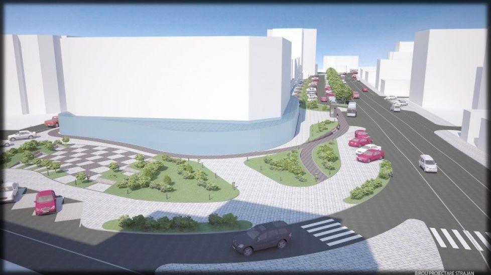 Macheta proiect centrul orasului Alba Iulia - Elis Pavaje