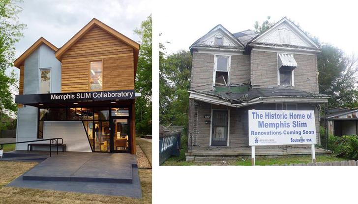 Casa monument transformata in studio de muzica - Casa monument