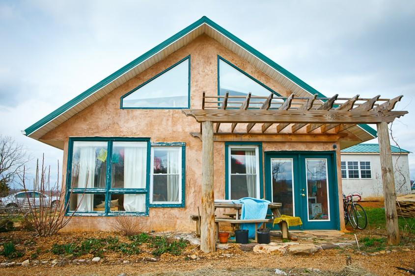 Casele din baloti de paie- ieftine eficiente si sustenabile - Casele din baloti de paie- ieftine