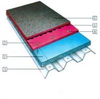 Hidroizolarea unei punti metalice (sistem cu strat dublu) - Hidroizolare