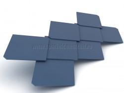 Placi cu forma romboidala - Placi din fibrociment