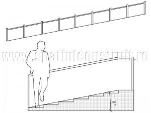 Rampa cu inclinatie de 11° - Rampe si scari cu panta redusa