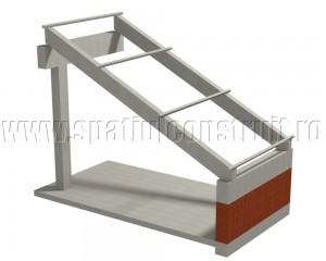 Acoperis cu grinzi si pane din beton - Tipuri de sarpante