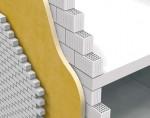 Termoizolatie exterioara intre pereti de zidarie cu Elastopor H - Perete exterior