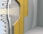 Temoizolatie interioara a constructiilor cu cadru de lemn cu Elastopor H - Perete exterior